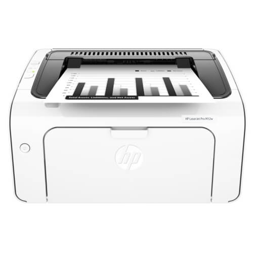Máy in laser đen trắng HP LaserJet Pro M12W