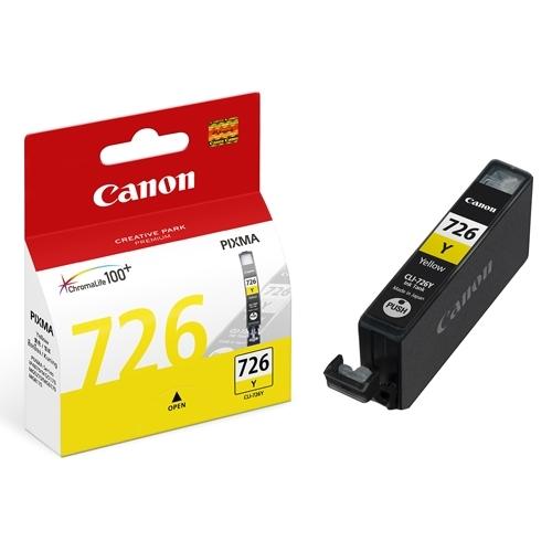 Mực in phun màu Canon CLI-726Y (Vàng)