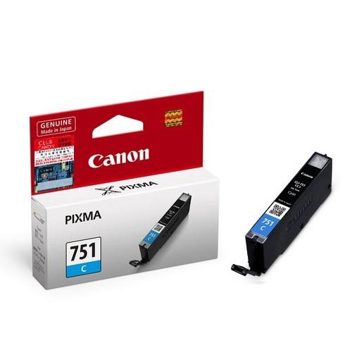 Mực in phun màu Canon CLI-751C (Xanh)