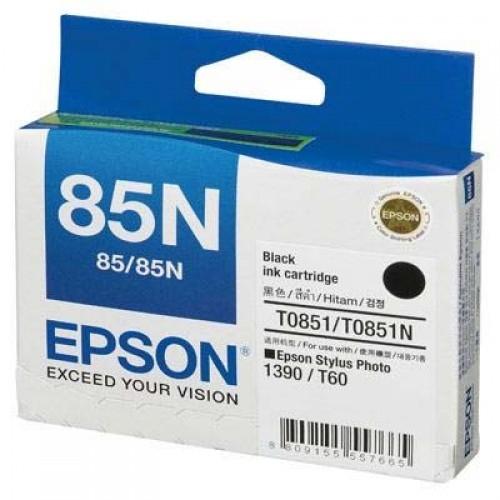 Mực in phun màu Epson T60 (T0851N) - Black (Đen)