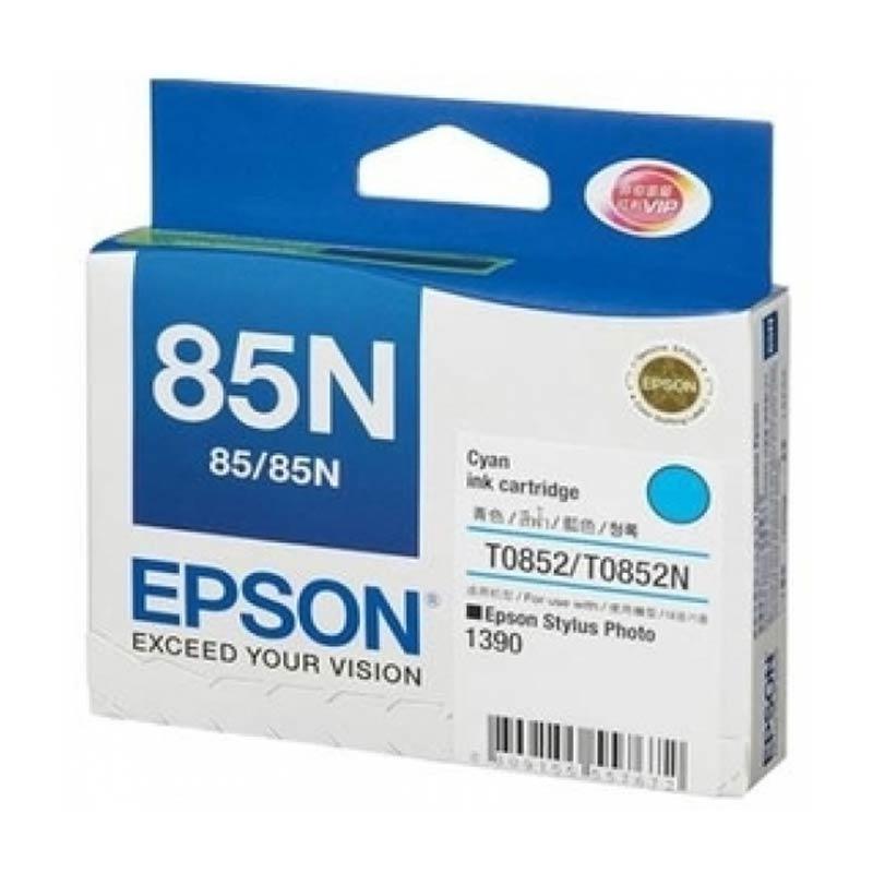 Mực in phun màu Epson T60 (T0852N) - Cyan (Xanh)
