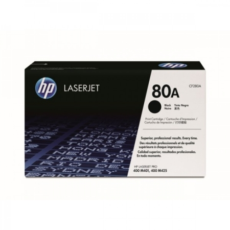 Mực In HP 80A (CF280A) - Black LaserJet Toner Cartridge